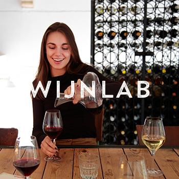 Vierkantje wijnlab